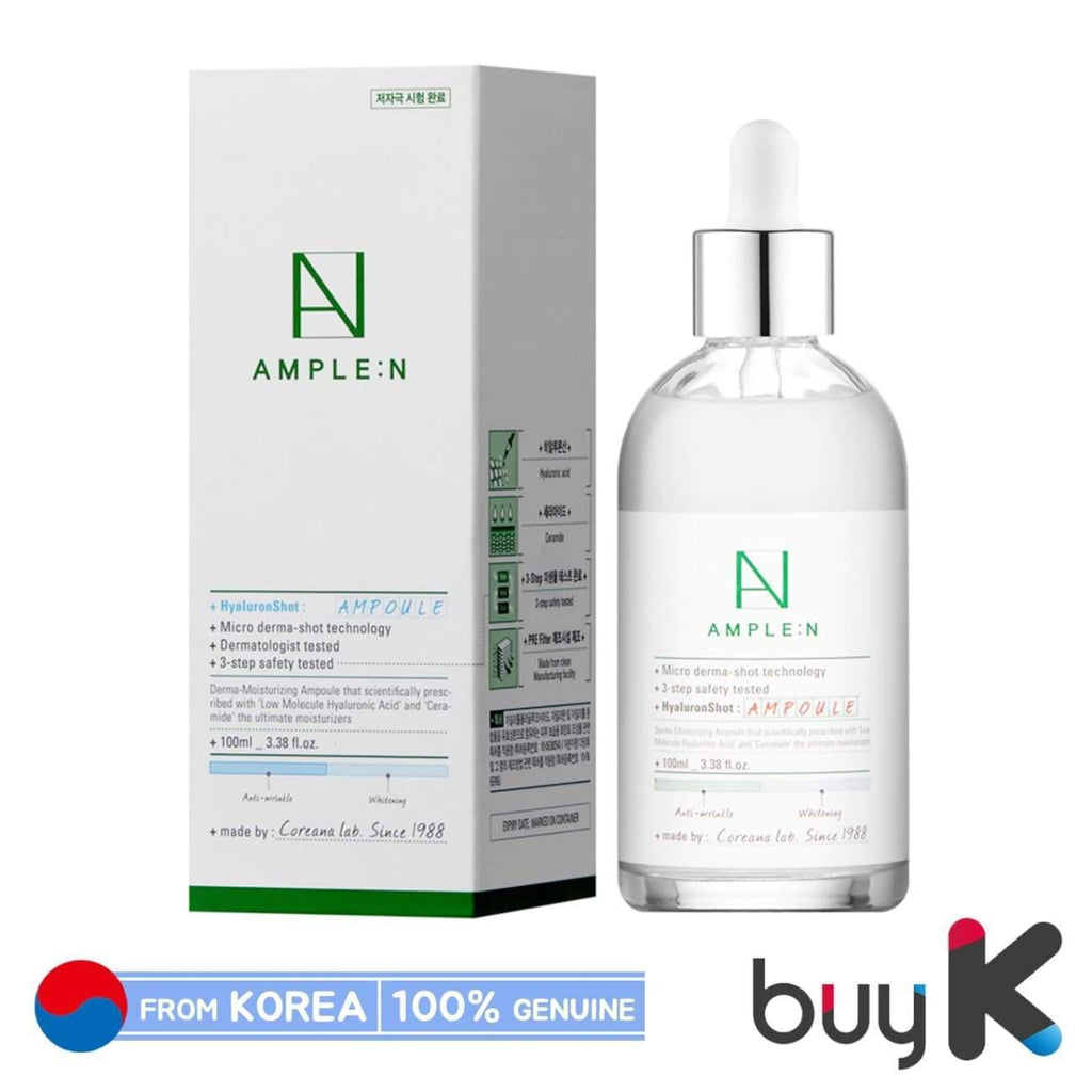 [AMPLE:N] Hyaluron Shot Ampoule 100ml - BuyK.KR