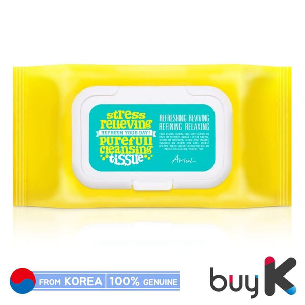 [ARIUL] Stress Relieving Purefull Cleansing Tissue 430g (1 pack / 80 sheets) - BuyK.KR