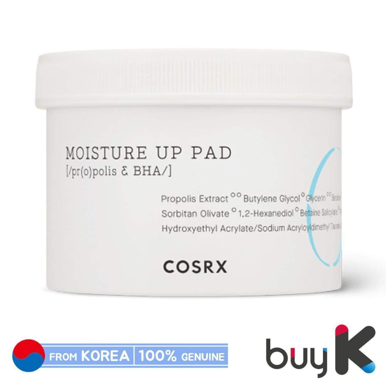 [COSRX] One Step Moisture Up Pad (1 pack / 70 pads)