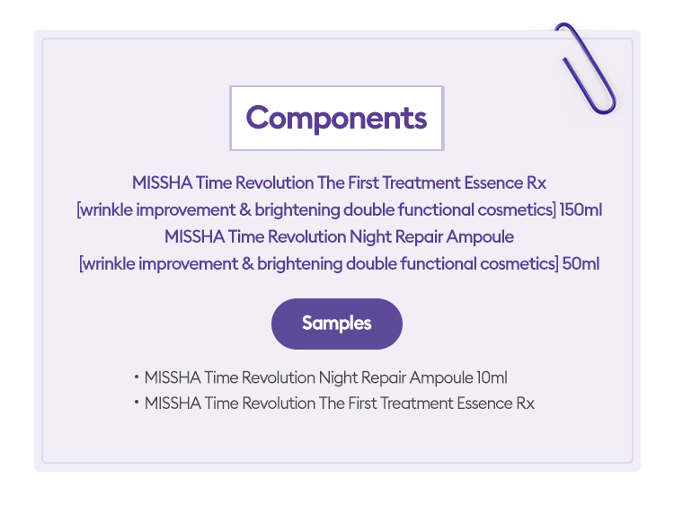 [MISSHA] Time Revolution Best Seller Special Set (Include 4 items) - BuyK.KR