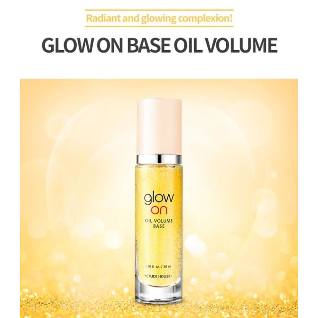 [ETUDE HOUSE] Glow On Base Oil Volume 30ml - BuyK.KR