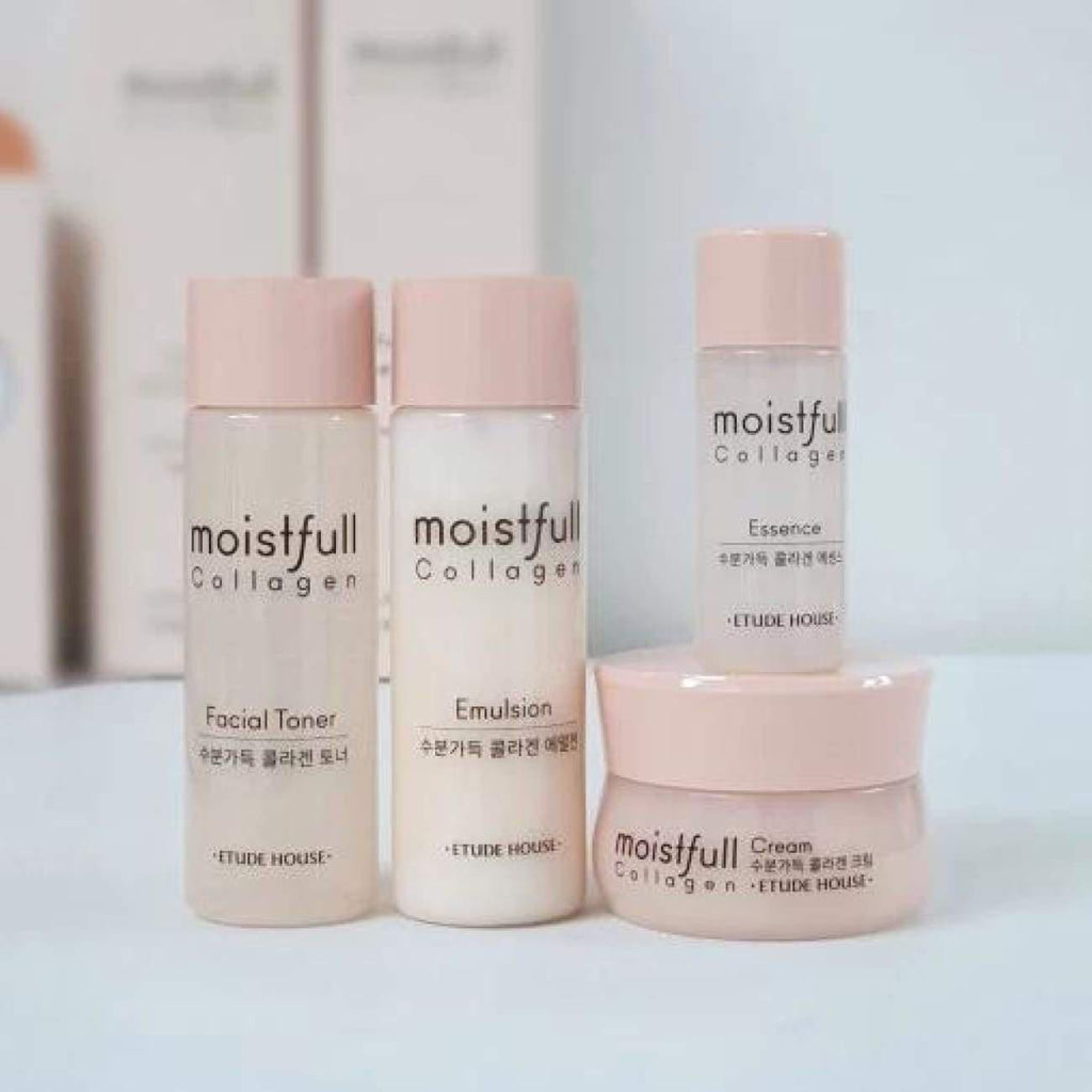 [ETUDE HOUSE] Moistfull Collagen Skin Care Kit (Include 4 items) - BuyK.KR