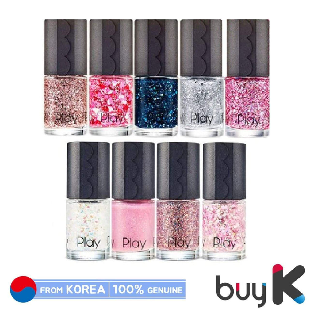 [ETUDE HOUSE] Play Nail New Pearl & Glitter 8ml (19 color) - BuyK.KR