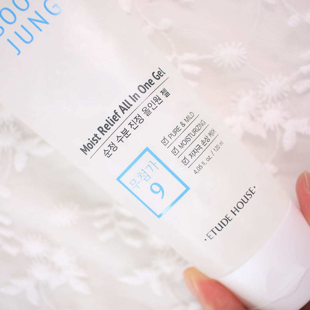 [ETUDE HOUSE] SoonJung Moist Relief All In One Gel 120ml - BuyK.KR