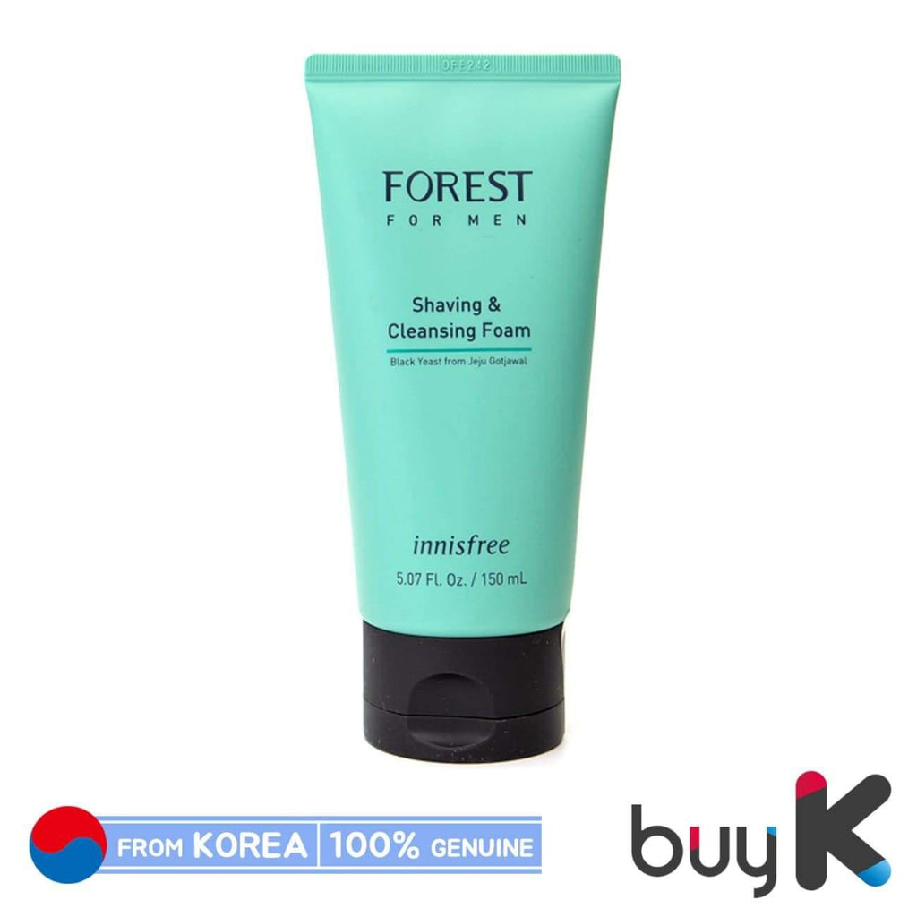 [INNISFREE] Forest for Men Shaving & Cleansing Foam 150ml - BuyK.KR