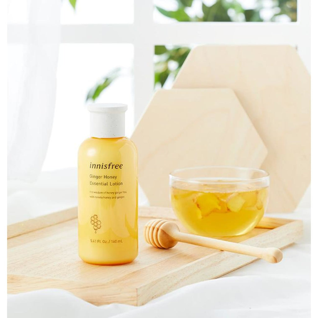 [INNISFREE] Ginger Honey Essential Lotion 160ml - BuyK.KR