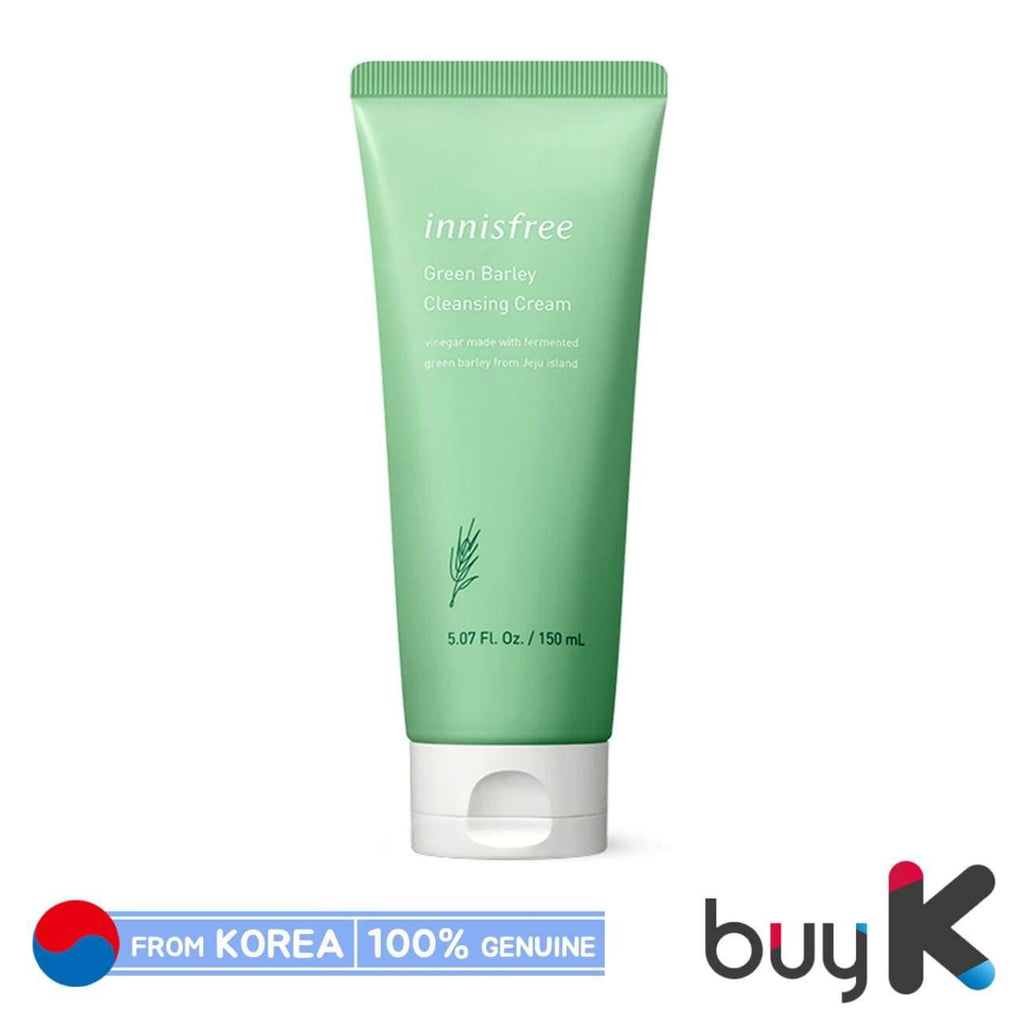 [INNISFREE] Green Barley Cleansing Cream 150ml - BuyK.KR