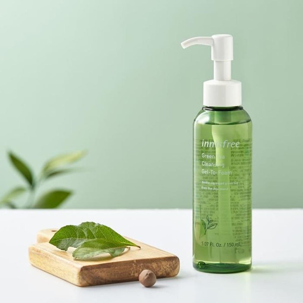 [INNISFREE] Green Tea Cleansing Gel-To-Form 150ml - BuyK.KR