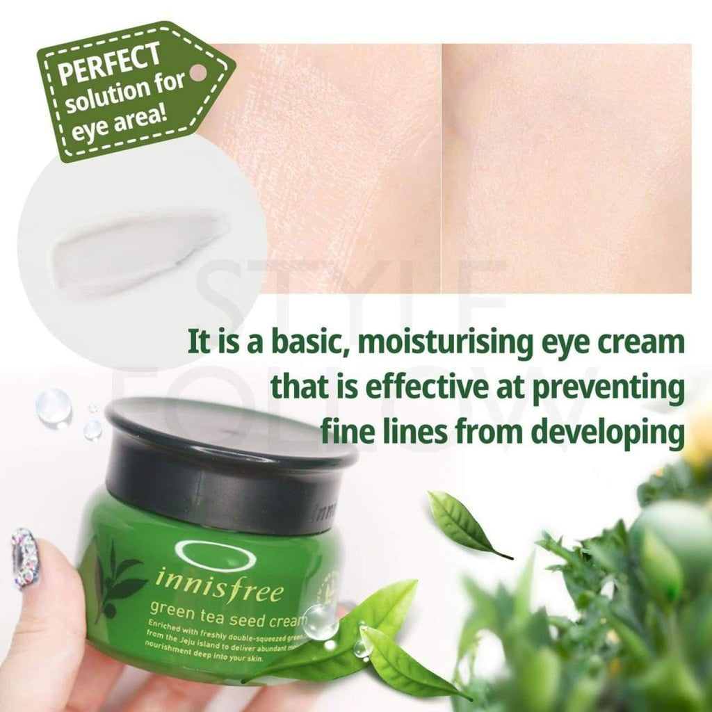 [INNISFREE] Green Tea Seed Eye Cream 30ml - BuyK.KR