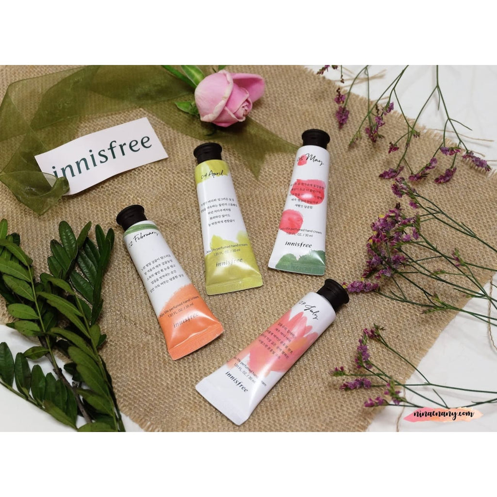 [INNISFREE] Jeju Life Perfumed Hand Cream 30ml (10 type)
