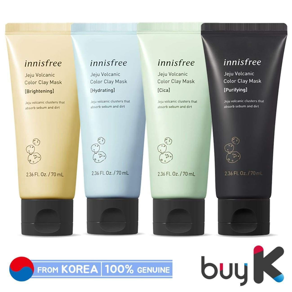 [INNISFREE] Jeju Volcanic Color Clay Mask 70ml - BuyK.KR