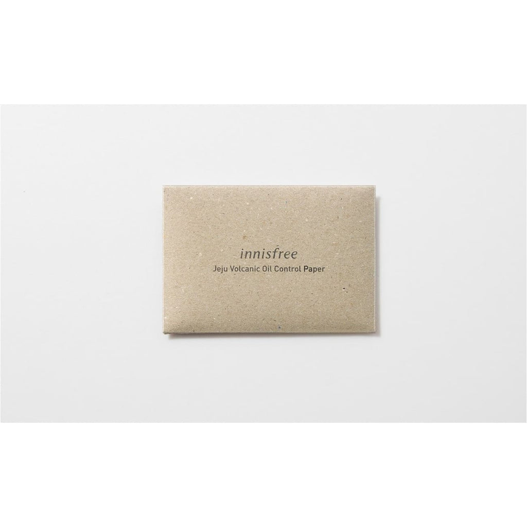 [INNISFREE] Jeju Volcanic Oil Control Paper (1 pack / 50 sheets) - BuyK.KR