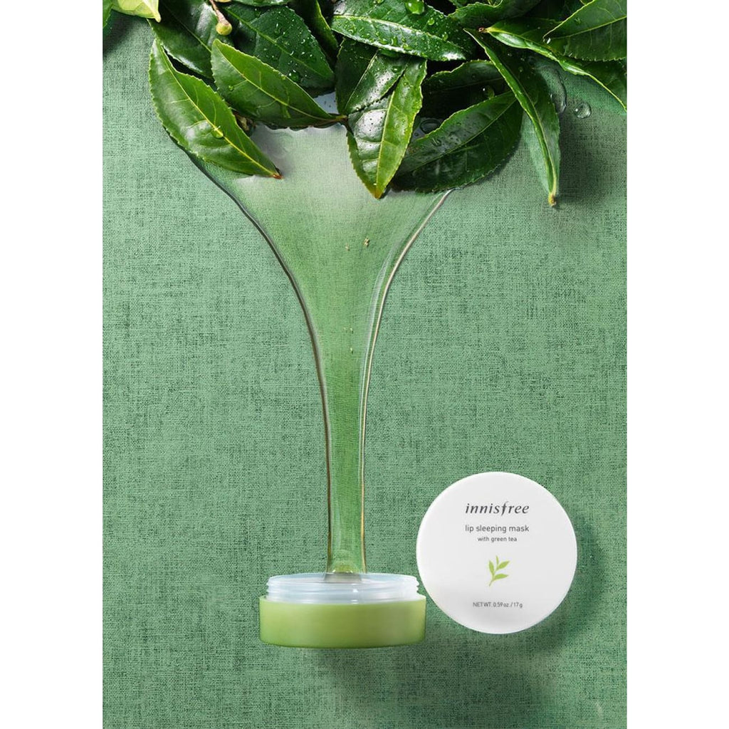 [INNISFREE] Lip Sleeping Mask with Green Tea 17g - BuyK.KR