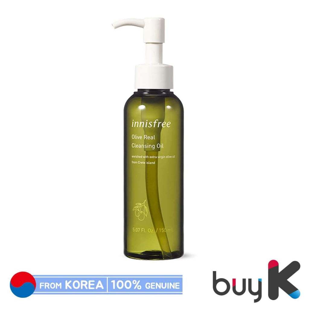 [INNISFREE] Olive Real Cleansing Oil 150ml - BuyK.KR