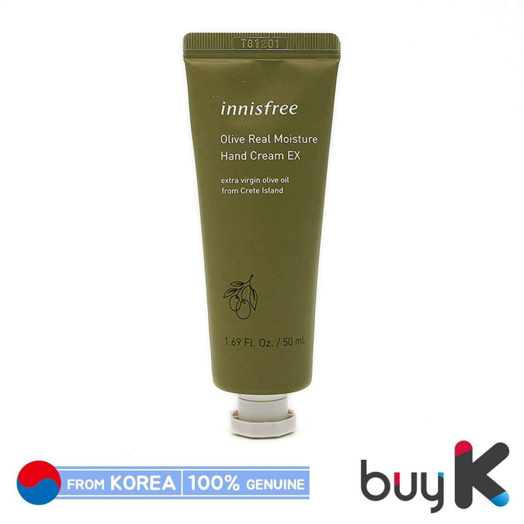 [INNISFREE] Olive Real Moisture Hand Cream EX 50ml - BuyK.KR