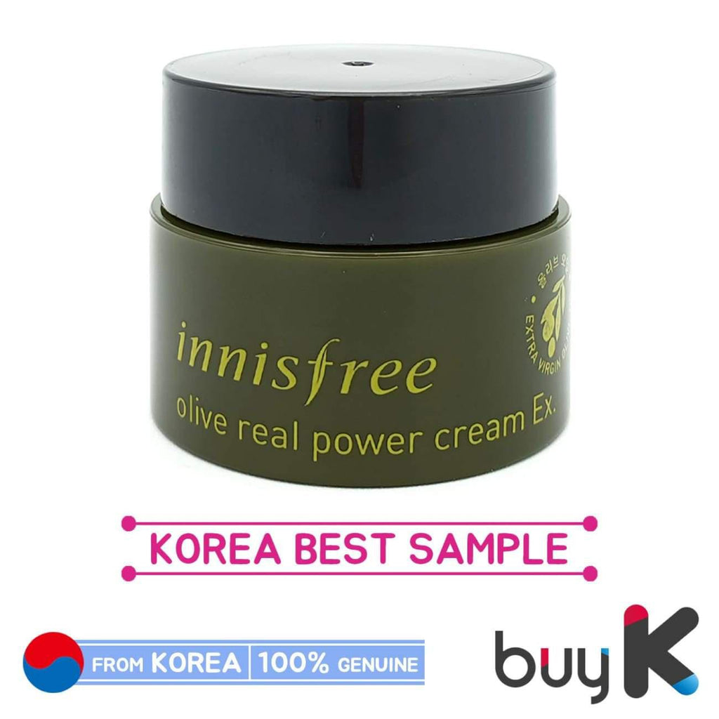 [INNISFREE] Olive Real Power Cream Ex. 5ml (Sample) - BuyK.KR