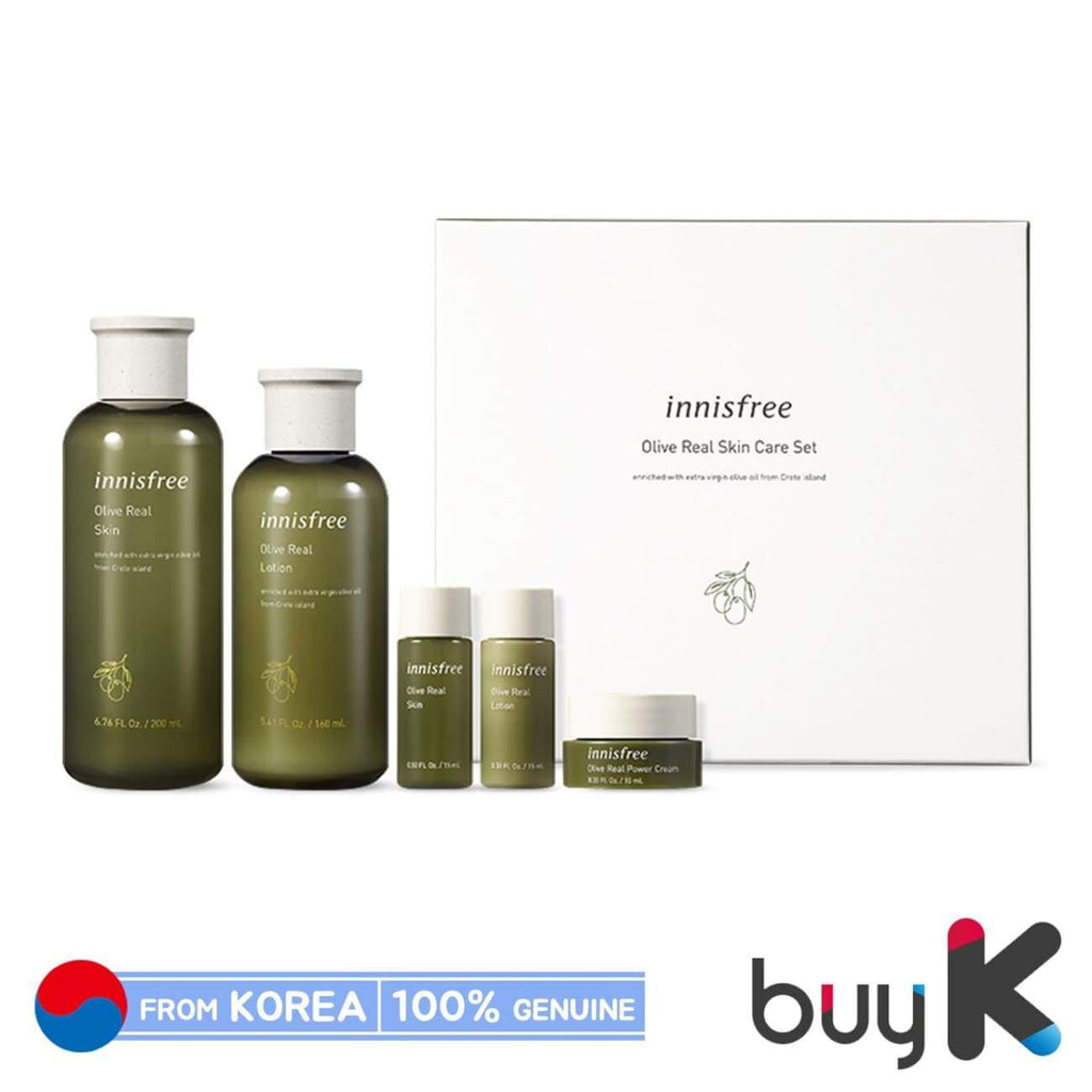 [INNISFREE] Olive Real Skin Care Ex Set (Include 5 items) - BuyK.KR