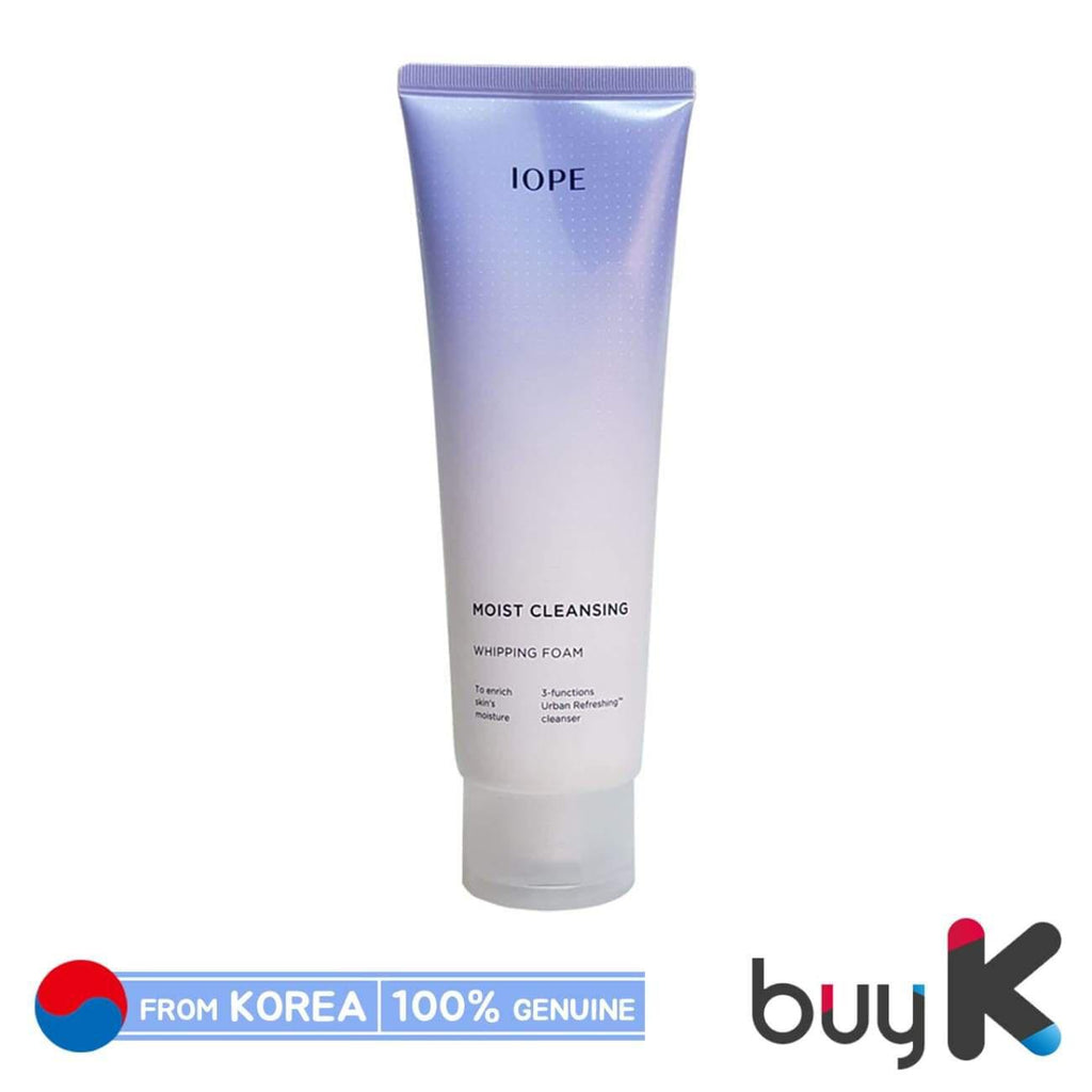 [IOPE] Moist Cleansing Whippipng Foam 180ml - BuyK.KR