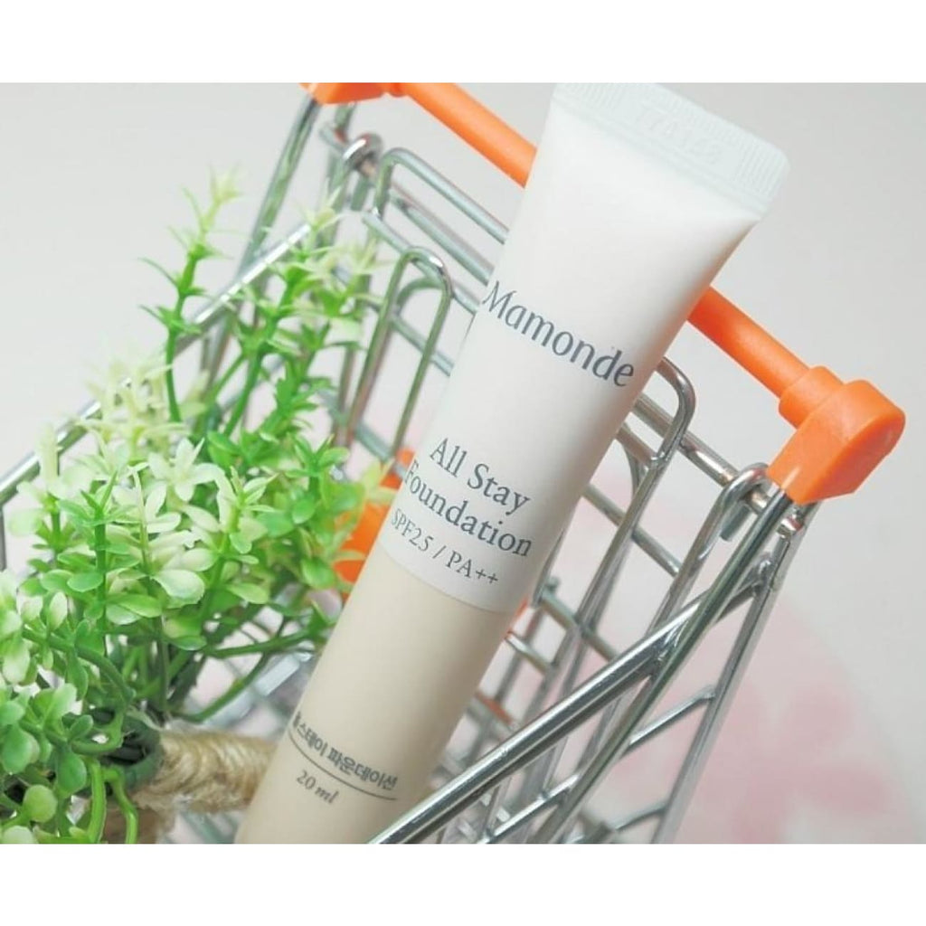 [MAMONDE] All Stay Foundation 20ml (4 color) - BuyK.KR