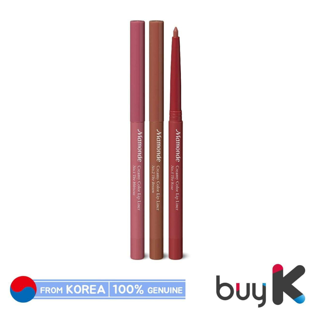 [MAMONDE] Creamy Color Lip Liner 0.3g (3 color) - BuyK.KR