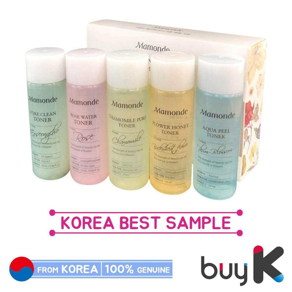 [MAMONDE] Flower Toner Trial Kit (25ml X 5ea) - BuyK.KR