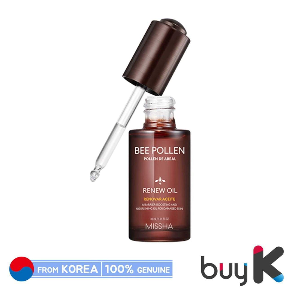 [MISSHA] Bee Pollen Renew Oil 30ml - BuyK.KR