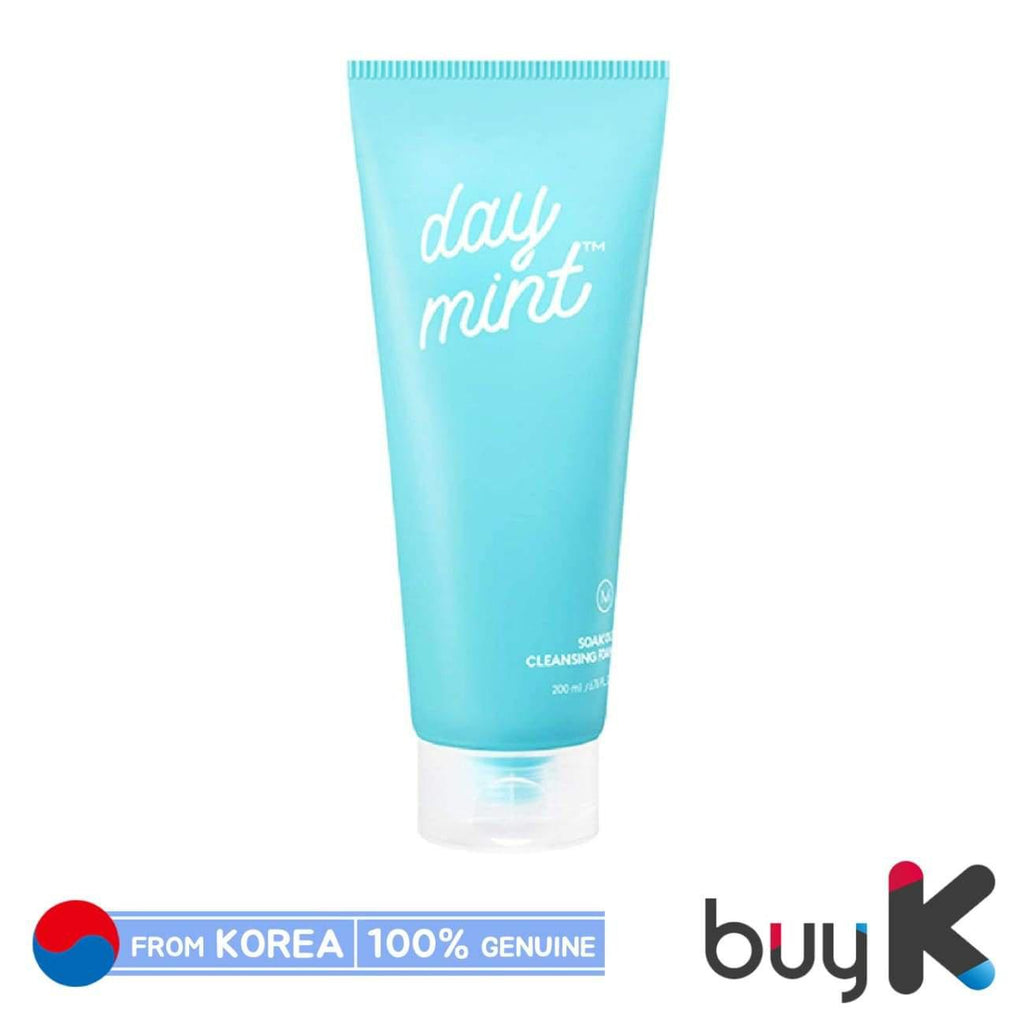 [MISSHA] Day Mint Soak Out Cleansing Foam 200ml - BuyK.KR