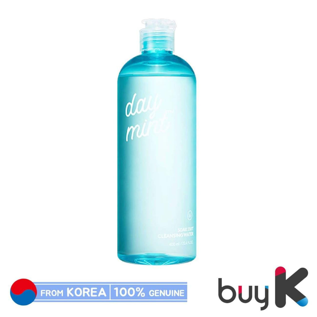 [MISSHA] Day Mint Soak Out Cleansing Water 400ml - BuyK.KR