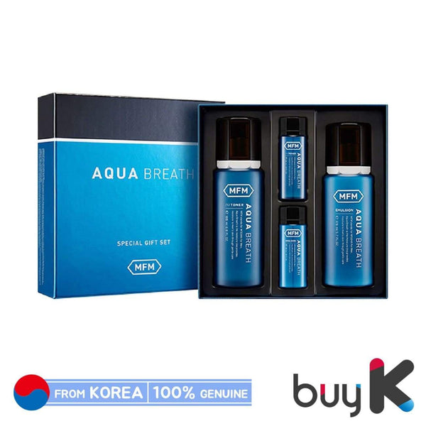 [MISSHA] For Men Aqua Breath Set (Include 4 items) - BuyK.KR