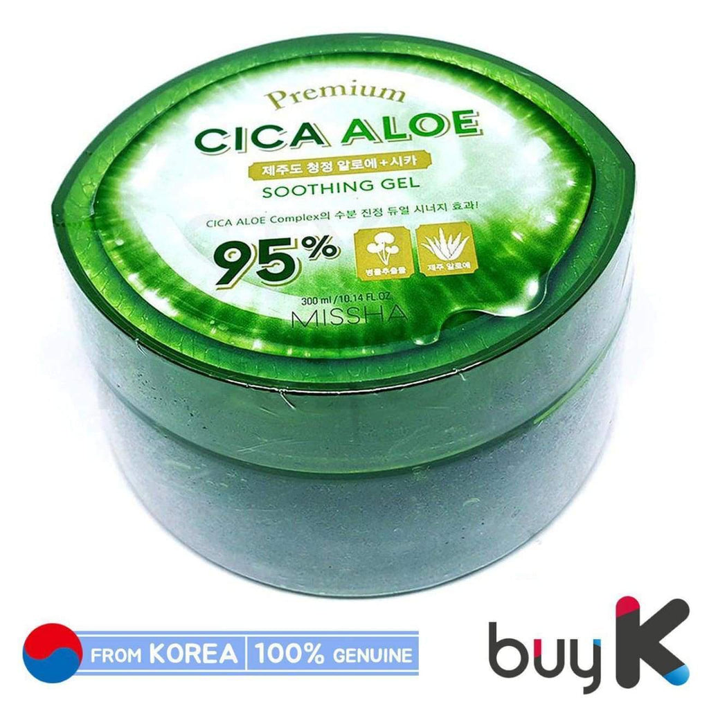[MISSHA] Premium 95% Cica Aloe Soothing Gel 300ml