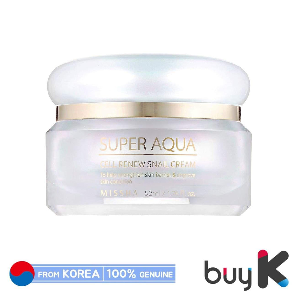 [MISSHA] Super Aqua Cell Renew Snail Cream 52ml - BuyK.KR