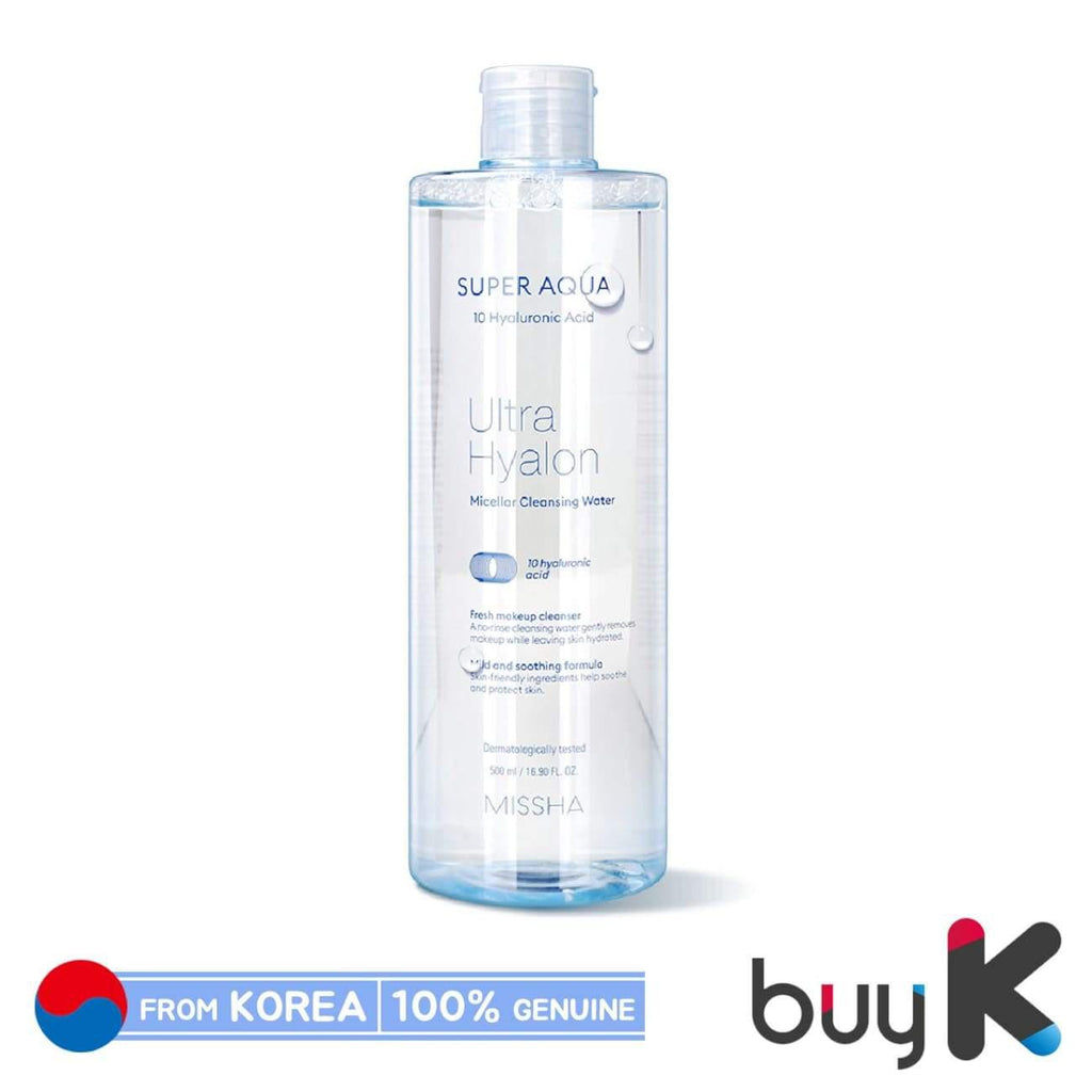 [MISSHA] Super Aqua Ultra Hyalon Micellar Cleansing Water 500ml - BuyK.KR