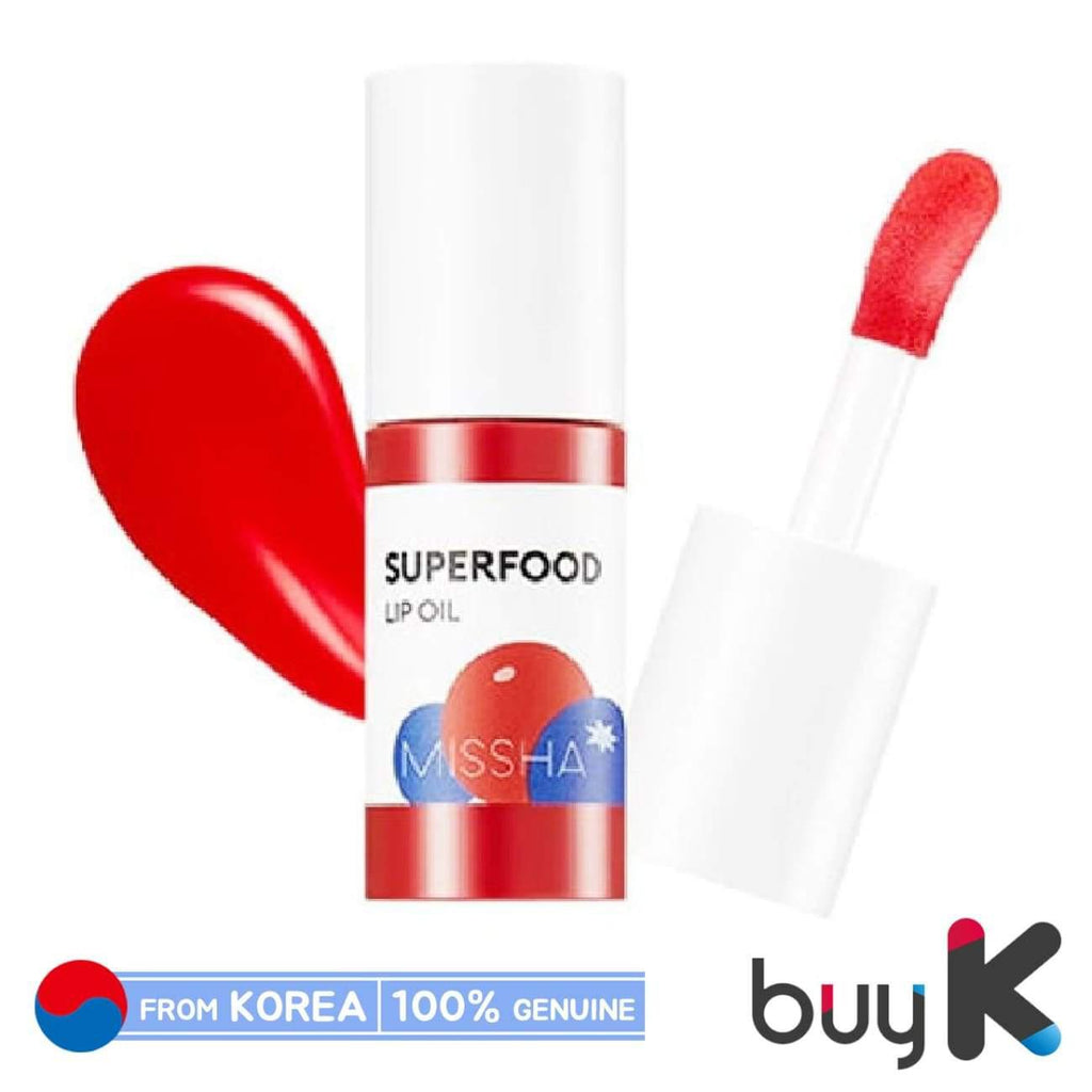 [MISSHA] Superfood Lip Oil 5.2g #Berry - BuyK.KR