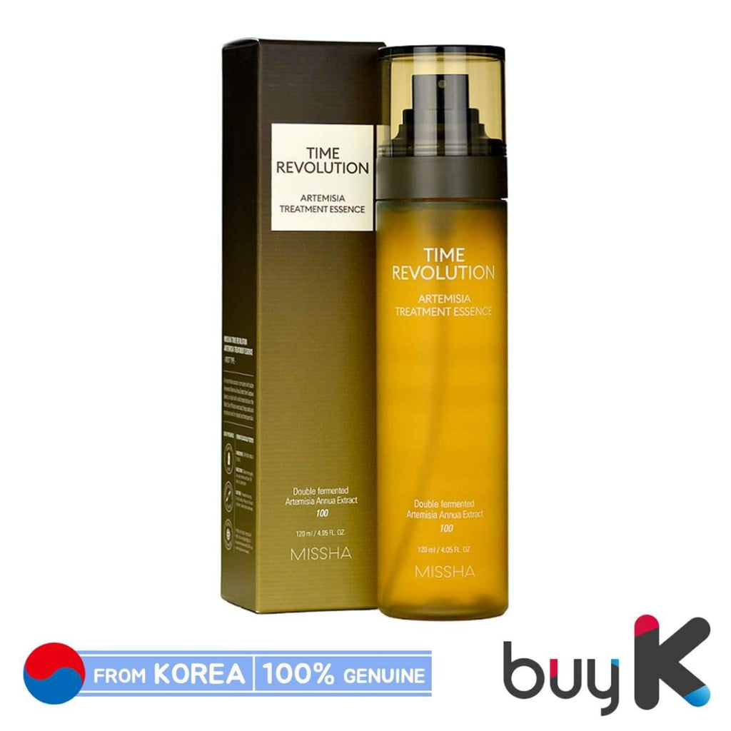 [MISSHA] Time Revolution Artemisia Treatment Essence 120ml (MIST type) - BuyK.KR
