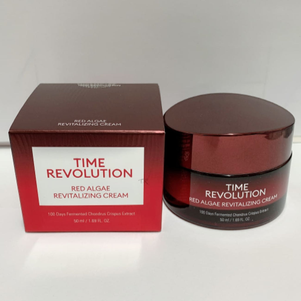 [MISSHA] Time Revolution Red Algae Revitalizing Cream 50ml - BuyK.KR