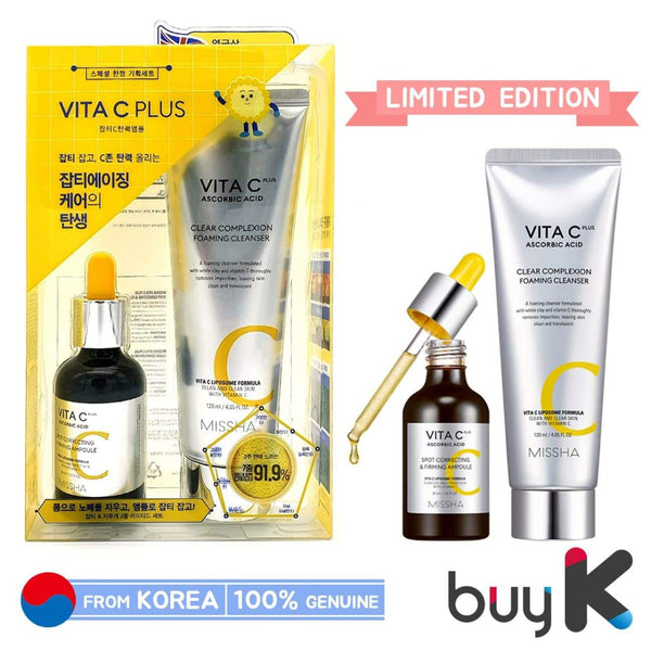 [MISSHA] Vita C Plus Spot Correcting And Clear Complexion Limited Set