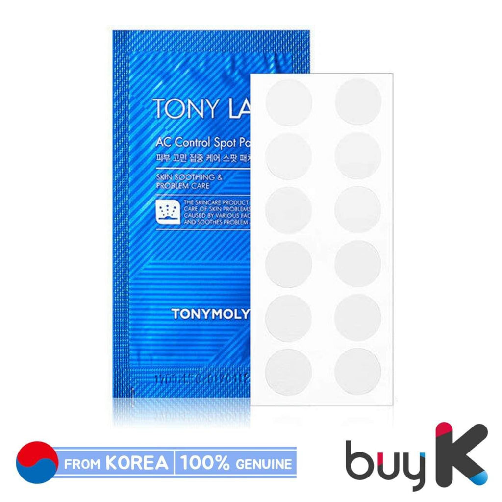 [TONYMOLY] Tony Lab AC Control Spot Patch (1 pack / 12 patches) - BuyK.KR