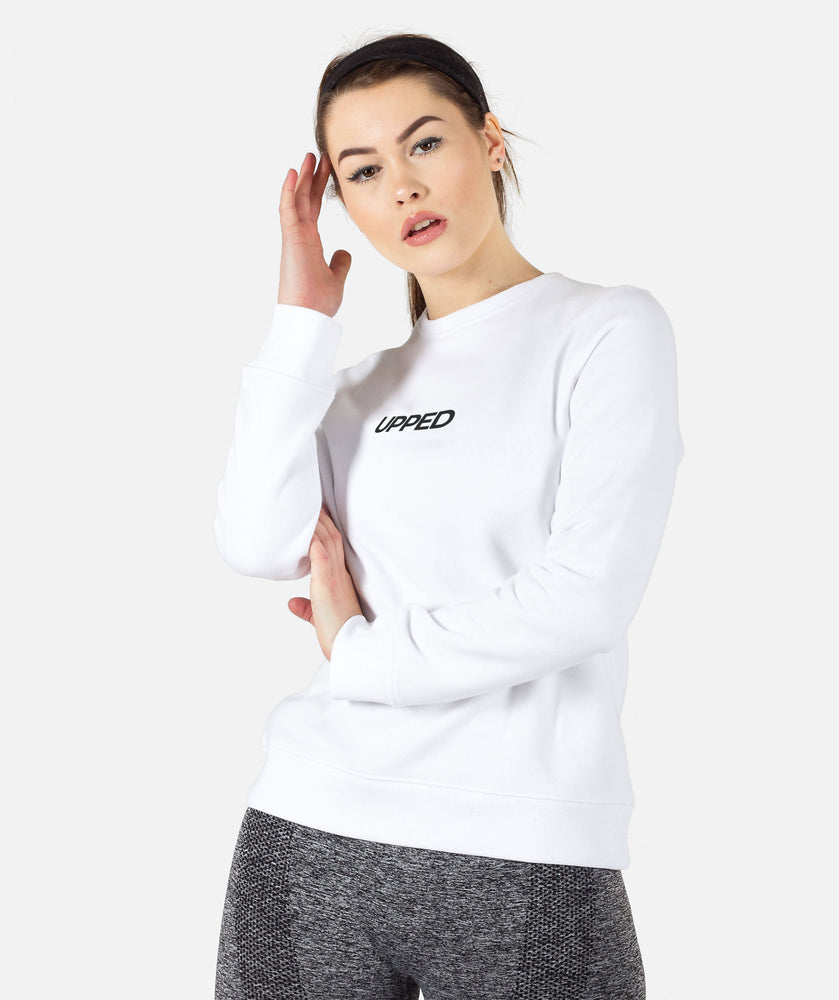 Snug Sweatshirt - White