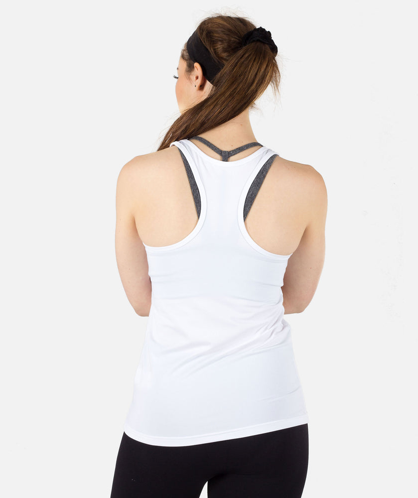 Workout Vest - White