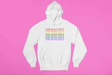 Kiss More Girls Rainbow Hoodie