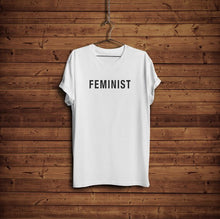 Simple Feminist T-Shirt - Unisex White Tee