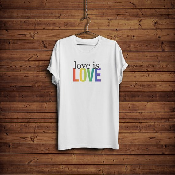 Love is Love Shirt - LGBTQ Pride T-Shirt