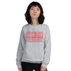 Kiss More Girls Crewneck Sweater