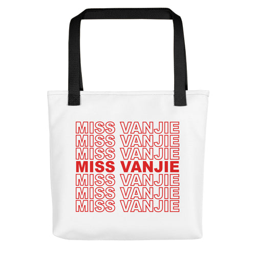Miss Vanjie Tote Bag - Miss Vanjie Thank You Bag