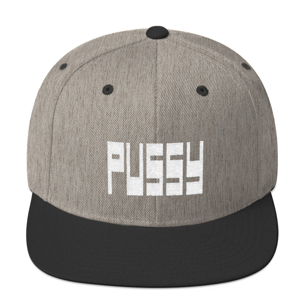 Pussy Hat - Heather/Black | QueerlyDesigns