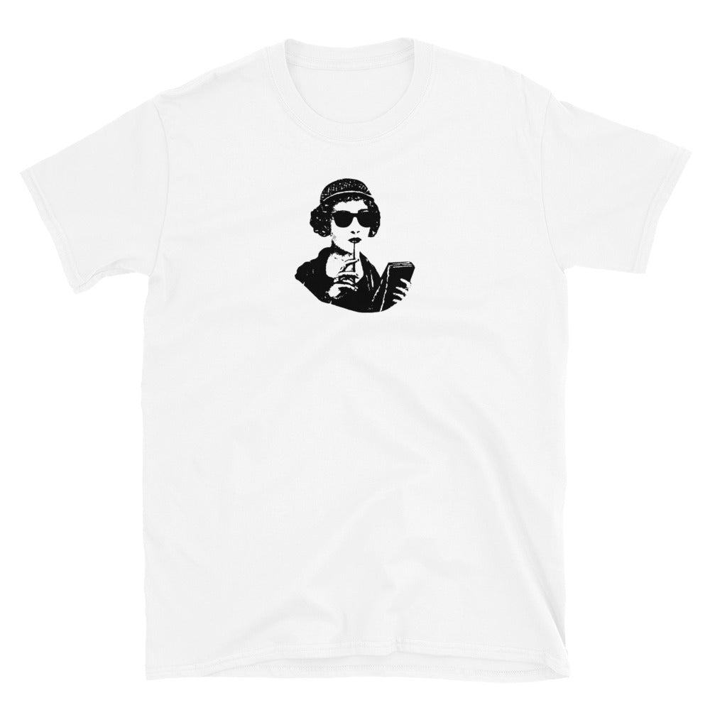 Sappho with Sunglasses Lesbian Pride Shirt