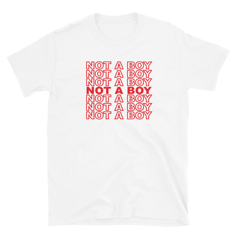 Not a Boy T-Shirt