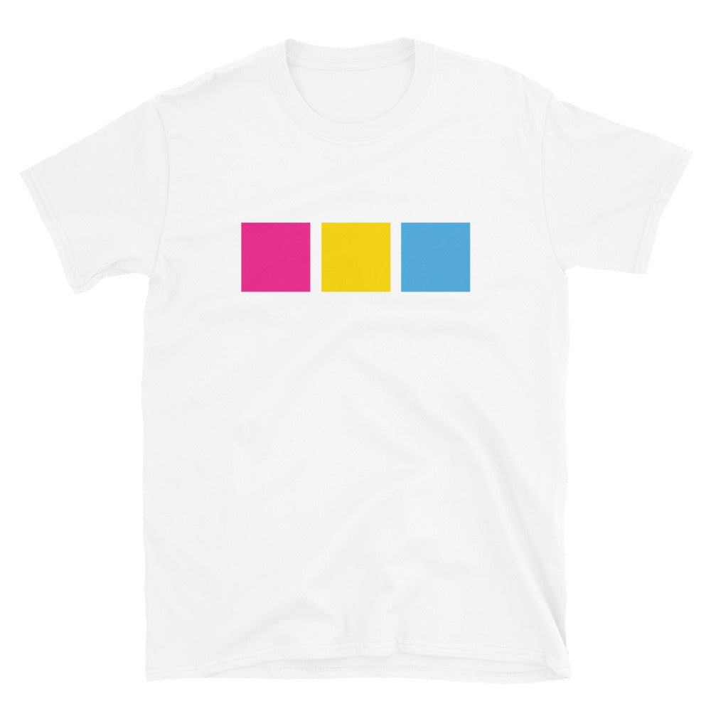 Pansexual Flag Squares Shirt