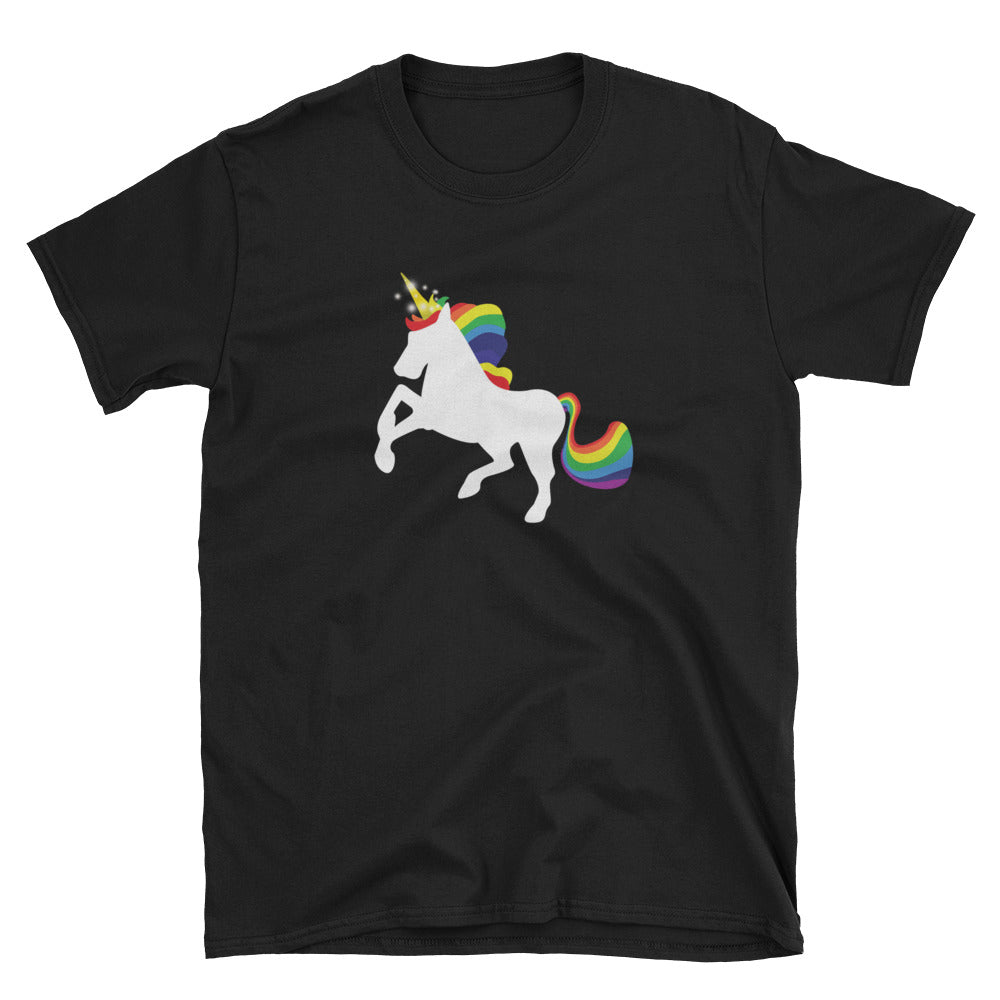 Rainbow Unicorn Gay Pride T-Shirt