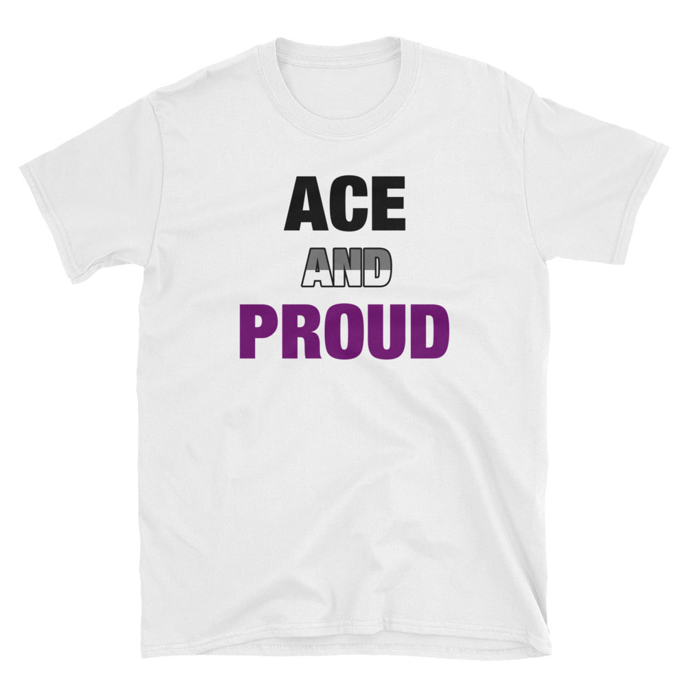 Ace and Proud Asexual Pride T-Shirt